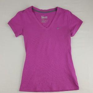 Nike Dri-FIT Women's V-Neck T-Shirts Size XS